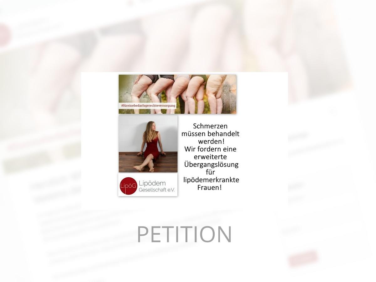 Petition der LipödemGesellschaft e.V